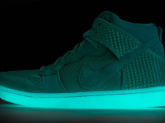 Nike Dunk High Green Glow