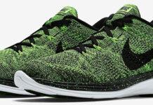 Nike Flyknit Lunar 3 Electric Green
