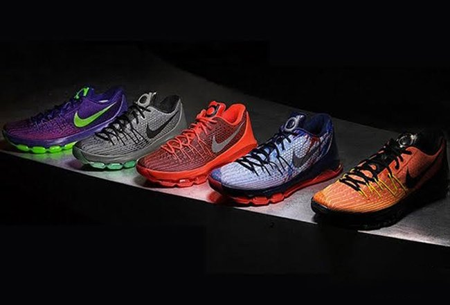 Lo encontré desfile aniversario  Nike KD 8 Colorways | SneakerFiles