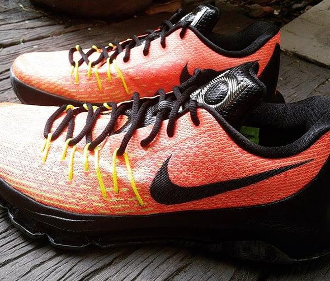 new style 64fd1 01af5 Nike KD 8 Hunts Hill Sunrise