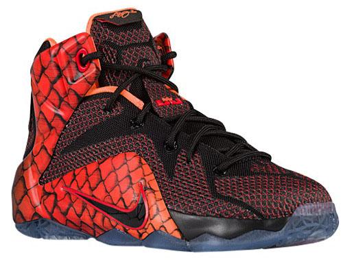 Nike LeBron 12 GS Reptile