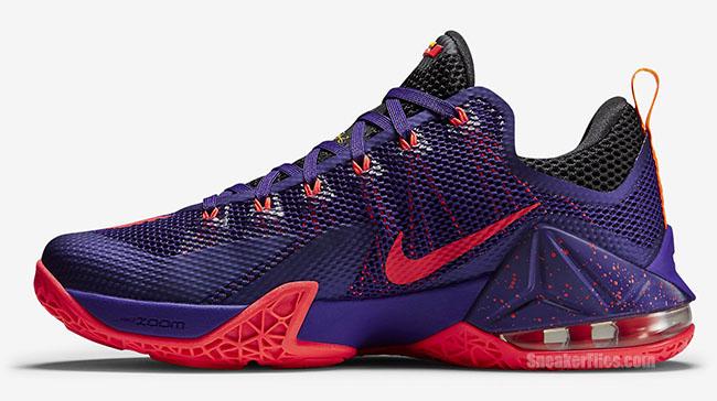 Nike LeBron 12 Low Court Purple