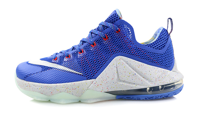 Nike LeBron 12 Low LTD Hyper Cobalt