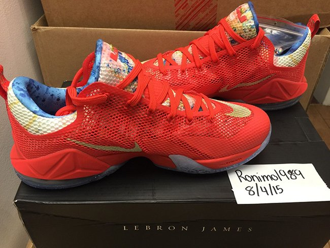 Trainwreck Nike LeBron 12 Low