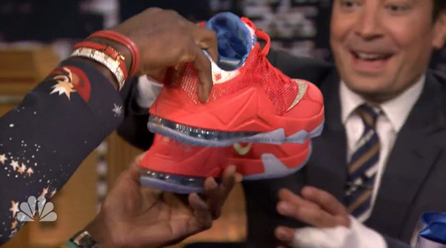 Nike LeBron 12 Low Trainwreck Jimmy Fallon