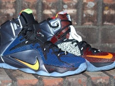 Nike LeBron 12 What The
