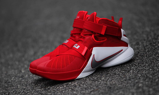 1d0cb9f23206 Nike LeBron Soldier 9 Ohio State