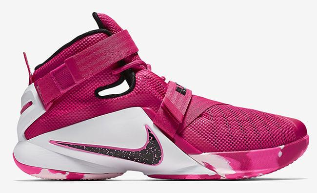 Nike LeBron Soldier 9 Think Pink