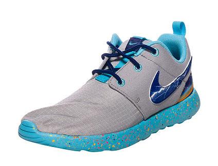 6ddb48ca4d3d Nike Roshe Run Print GS Lightning Pack