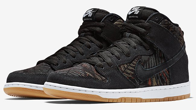 more photos 039a5 d55de Nike SB Dunk High Rainforest