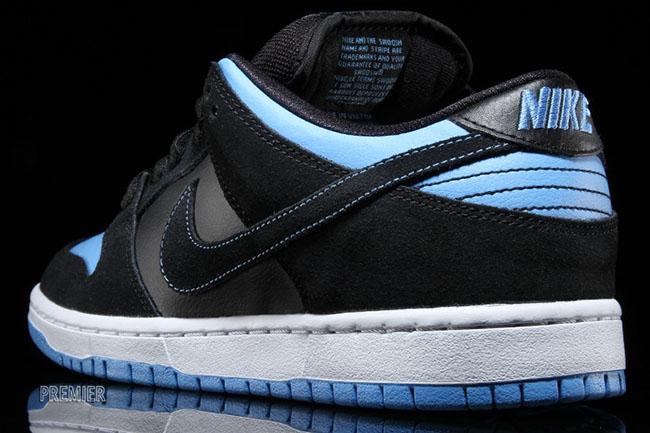 Nike SB Dunk Low Black University Blue