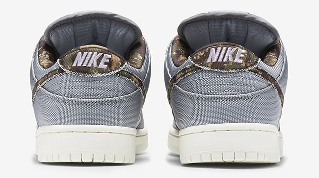 Nike SB Dunk Low Camo Swoosh