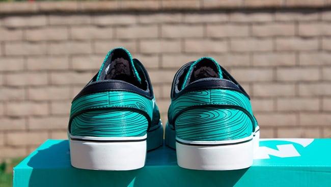 Nike SB Zoom Stefan Janoski Mint Woodgrain