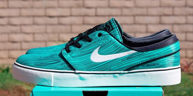 Suave darse cuenta Peaje  Nike SB Stefan Janoski Mint Woodgrain | SneakerFiles