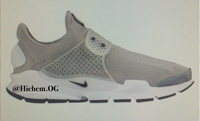 Nike Sock Dart 2016 Medium Grey