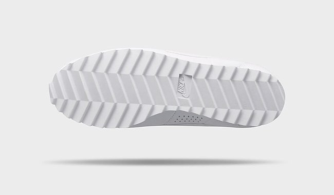 NikeLab Classic Cortez Big Tooth White