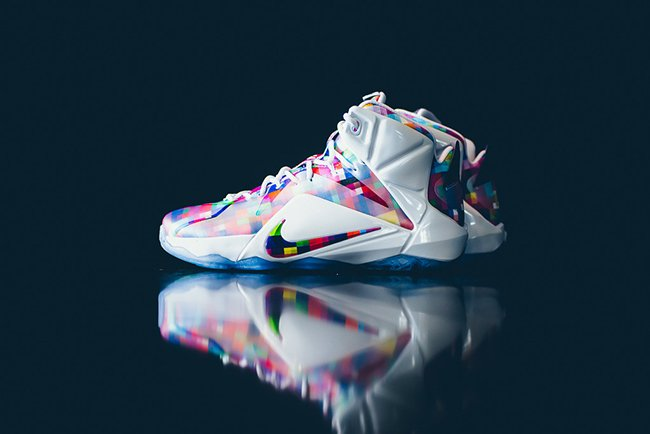 info for 13eb6 6b123 Nike LeBron 12 EXT Prism