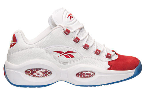 Reebok Question Low White Red