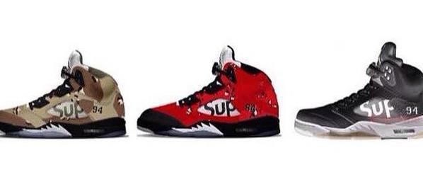 Supreme Air Jordan 5 Camo