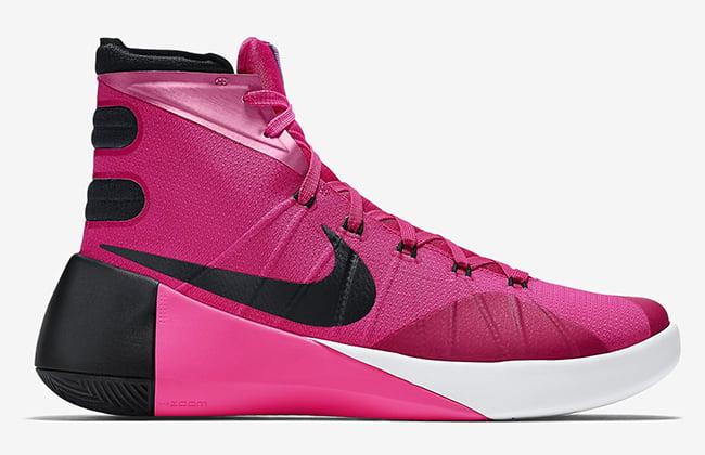 c23277a0ee3 Nike Hyperdunk 2015 Think Pink . ...