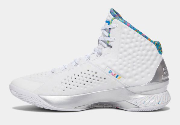 Under Armour Curry One Splash Party Release Date