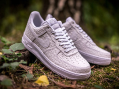 White Croc Nike Air Force 1 Low