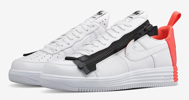 Acronym Nike Lunar Force 1 SP Zip Bright Crimson