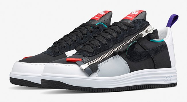 Acronym Nike Lunar Force 1 Low Zip | SneakerFiles