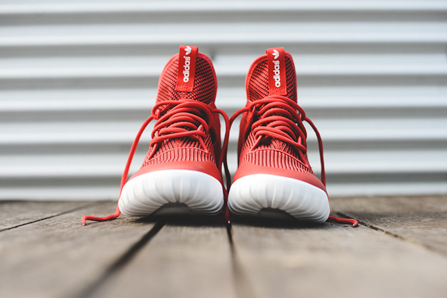 adidas Tubular X Primeknit Red White