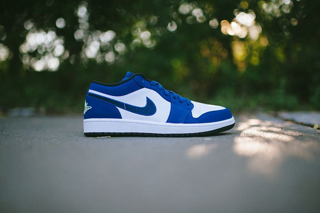 Air Jordan 1 Low Insignia Blue Ghost Green Sneakerfiles