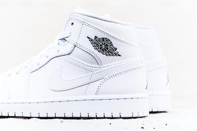 Air Jordan 1 Mid White Cool Grey