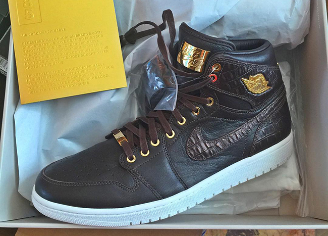 Air Jordan 1 Pinnacle Croc