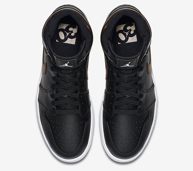 finest selection a02b3 e5f6f Air Jordan 1 Rare Air Black Bronze