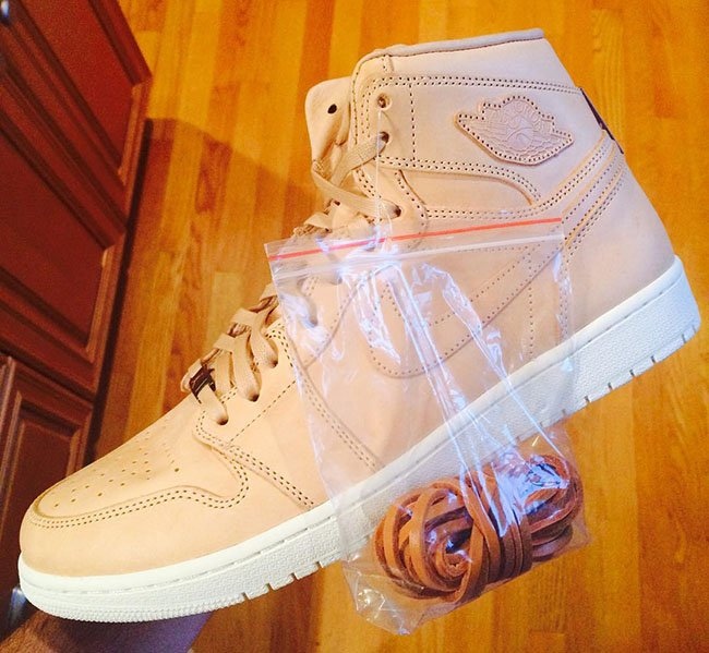 Air Jordan 1 Retro High OG Tan Leather