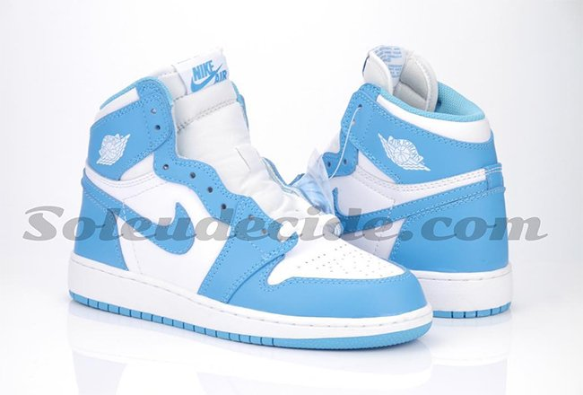 Air Jordan 1 Retro High OG UNC Powder Blue
