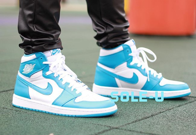 air jordan retro high og unc