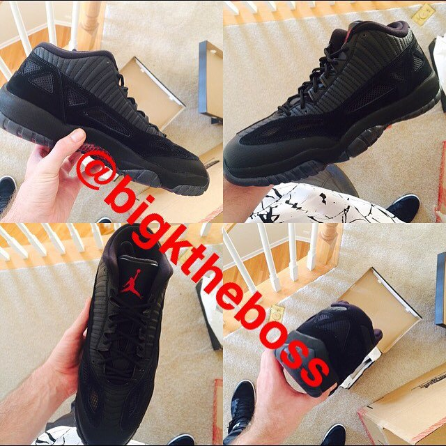 Air Jordan 11 IE Low Referee 2015