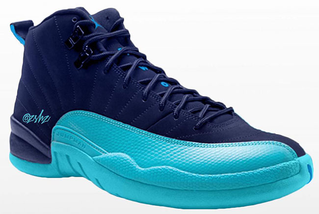 Air Jordan 12 Carolina Blue 2016 Sneakerfiles