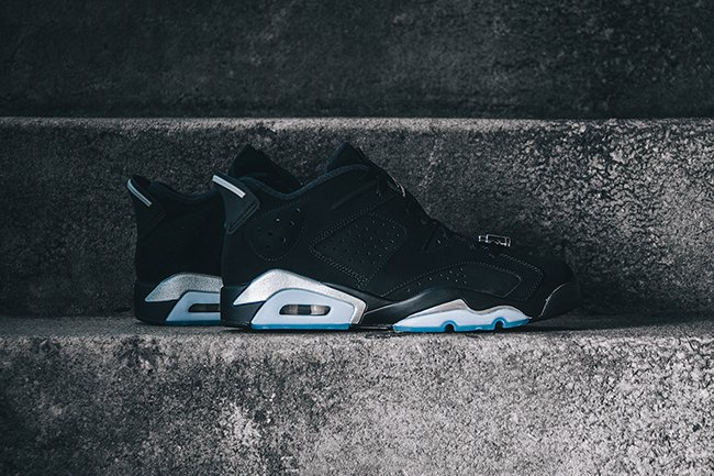 meet 0023a 23034 Air Jordan 6 Low Black Chrome