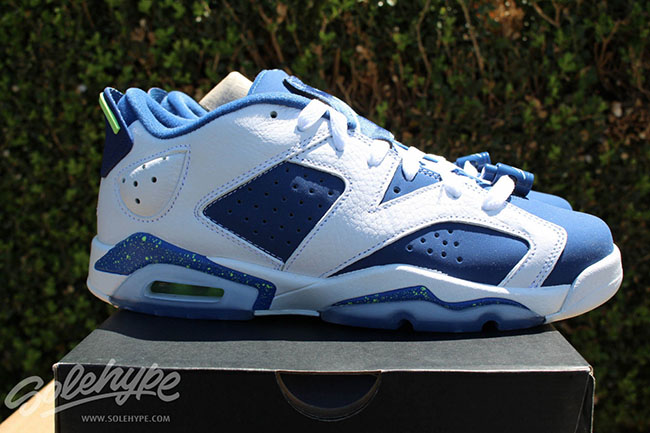 Air Jordan 6 Low Ghost Green 2015