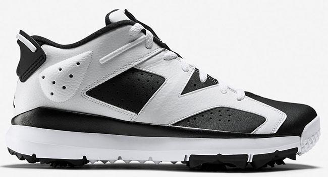 Air Jordan 6 Low Golf Shoes Oreo