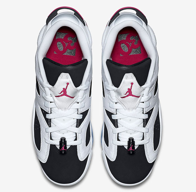 Air Jordan 6 Low GS Fuchsia