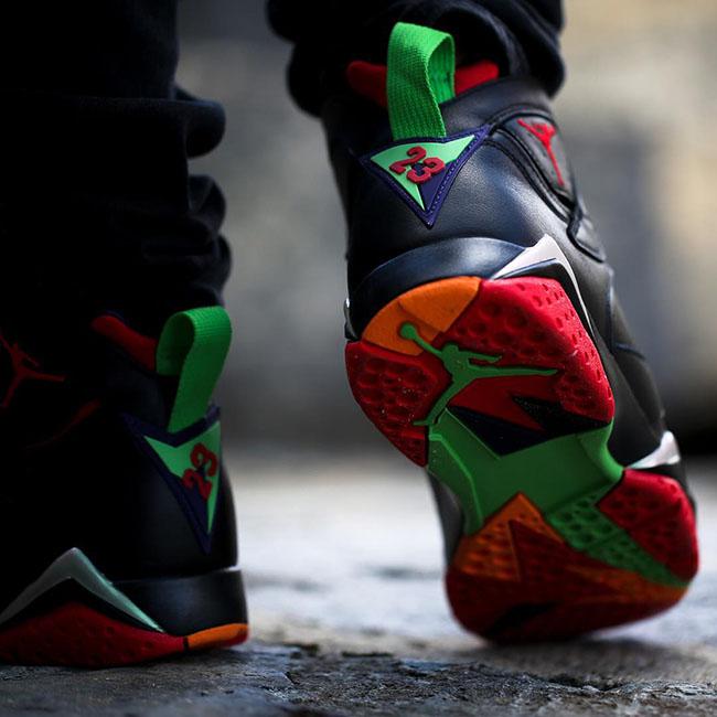 Air Jordan 7 Marvin the Martian On Feet