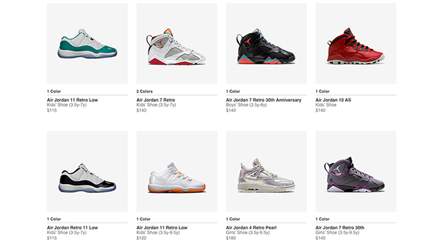 Air Jordan Kids Restock August 2015 | SneakerFiles