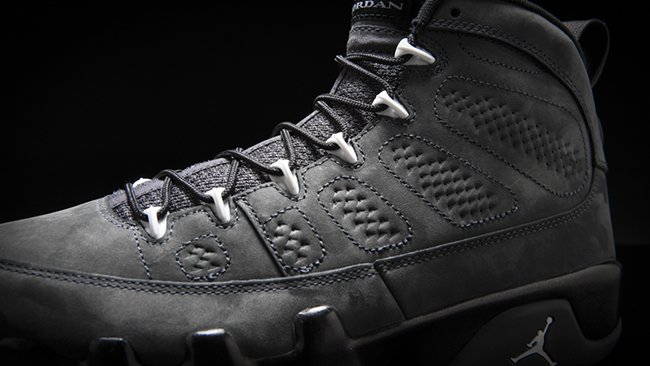 Air Jordan 9 Anthracite Black White