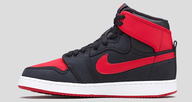 Bred Air Jordan 1 KO High OG Release