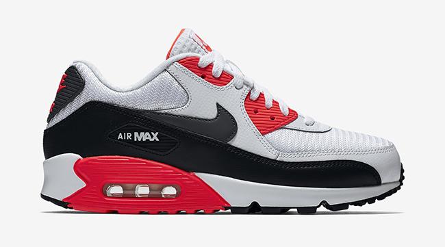Bright Crimson Nike Air Max 90 Essential