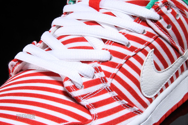 Candy Cane Nike SB Dunk Low