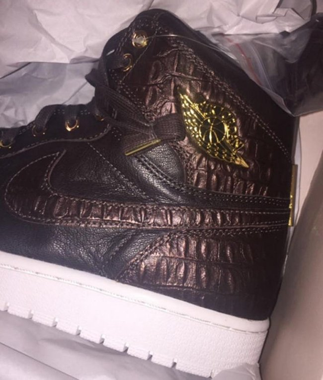 Croc Brown Air Jordan 1 Pinnacle