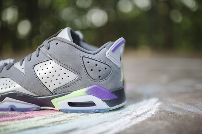 Air Jordan 6 Low GS Ultraviolet Girls